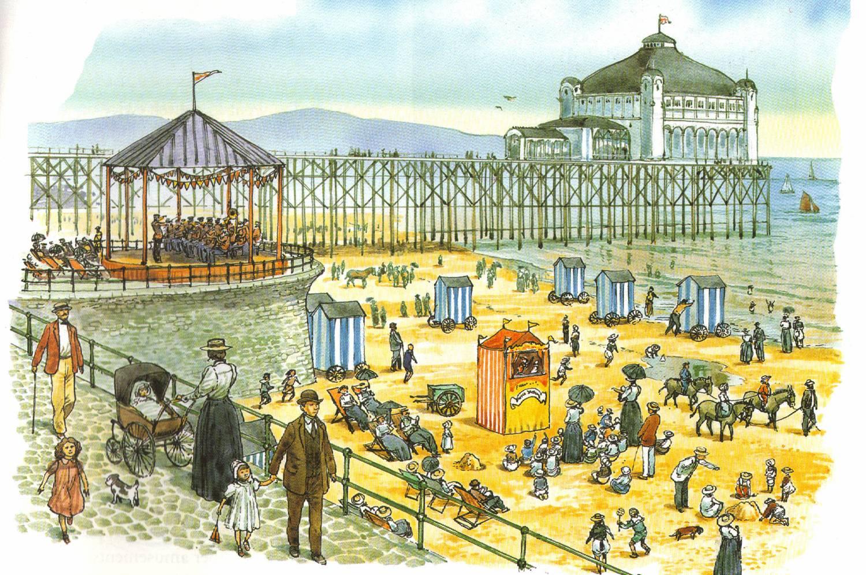 Paintings of Seaside Scenes Victorian Seaside Paintings