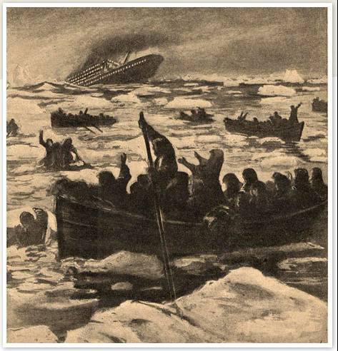 teaching sinking of titanic