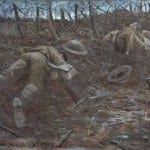 Why was this World War One painting censored?