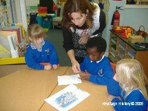 Nursery teaching history