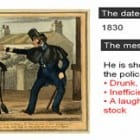 GCSE SHP Crime and Punishment: The Metropolitan police force in 1830: SMART TASK