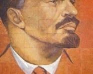Larger than life Lenin