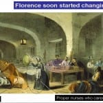 Fighting Fit. What did Florence do to improve the lives of the soldiers when she arrived in the Crimea?