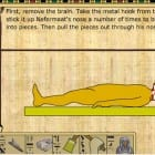 Embalming the dead in Ancient Egypt : KQ5  Great history and great literacy too