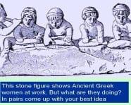 teaching women ancient greece