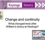 How far did life really change when William the Conqueror became king after the Battle of Hastings? SMART TASK KS3