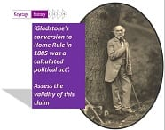 Title slide from powerPoint with samll image of Gladstone