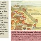 Picture this. Creating a group drawing of a Roman town with all key buildings included in the right place.  Key Question 4 Activity 1