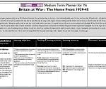 Planner for Britain at War: The Home Front 1939-45