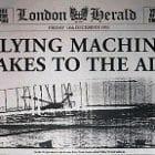 The Wright Brothers first flight.  KS1 Prove it! task KQ4