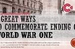 How will your school commemorate the end of World War One in 2018?