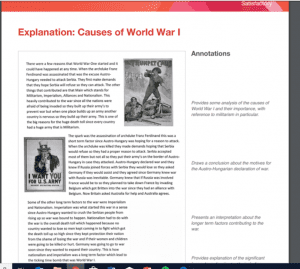 What does a good KS3 history assessment portfolio look like?