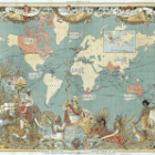 British Empire - How can we infer so much about the empire from a study of just one map and the person who created it?