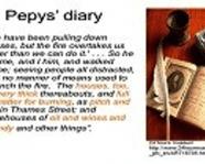 Pepys' diary example
